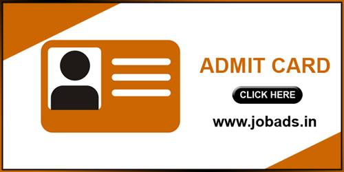 AMD Stenographer Admit Card