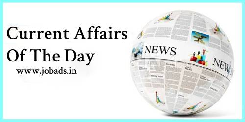 Free Current Affairs Of 9 January 2020