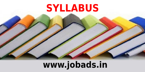 SCBL Junior Officer Syllabus