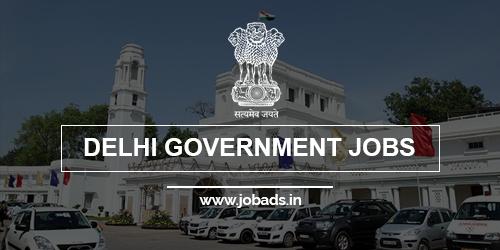 delhi govt jobs 2021 - jobads.in