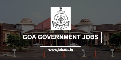 goa govt jobs 2021 - jobads.in