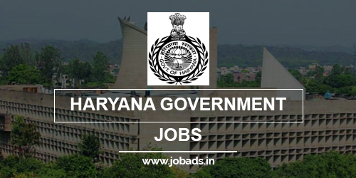 haryana gov jobs 2021 - jobads.in