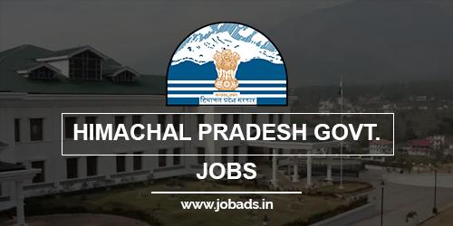 himachal pradesh govt jobs 2021 - jobads.in