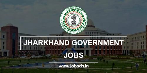 jharkhand govt jobs 2021 - jobads.in