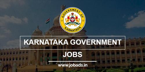karnataka Govt jobs 2021 - jobads.in