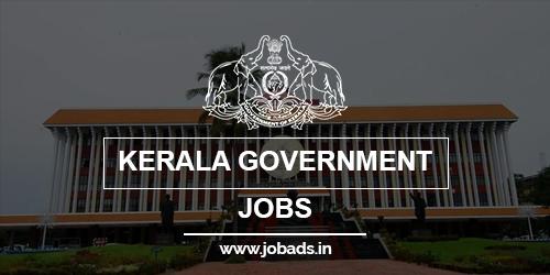 Kerala Govt Jobs 2021 - jobads.in
