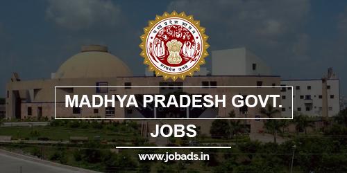 madhya pradesh govt jobs 2021