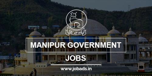 manipur govt jobs 2021 - jobads.in