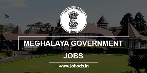 meghalaya govt jobs 2021 - jobads.in