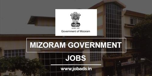 mizoram govt jobs 2021 - jobads.in