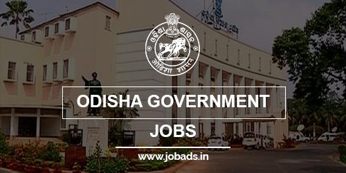 odisha Govt jobs 2021 - jobads.in