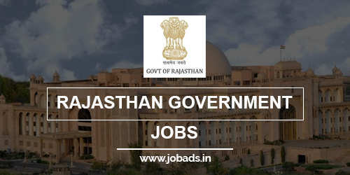 rajasthan govt jobs 2021 - jobads.in