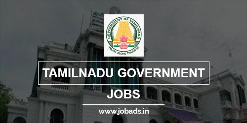 tamilnadu govt jobs 2021 - jobads.in