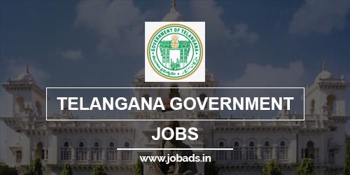 telangana Govt jobs 2021 - jobads.in