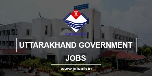 uttarakhand govt jobs 2021 - jobads.in
